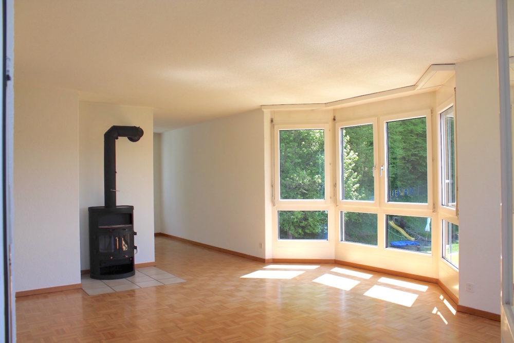 Wohnzimmer_Blick Wald