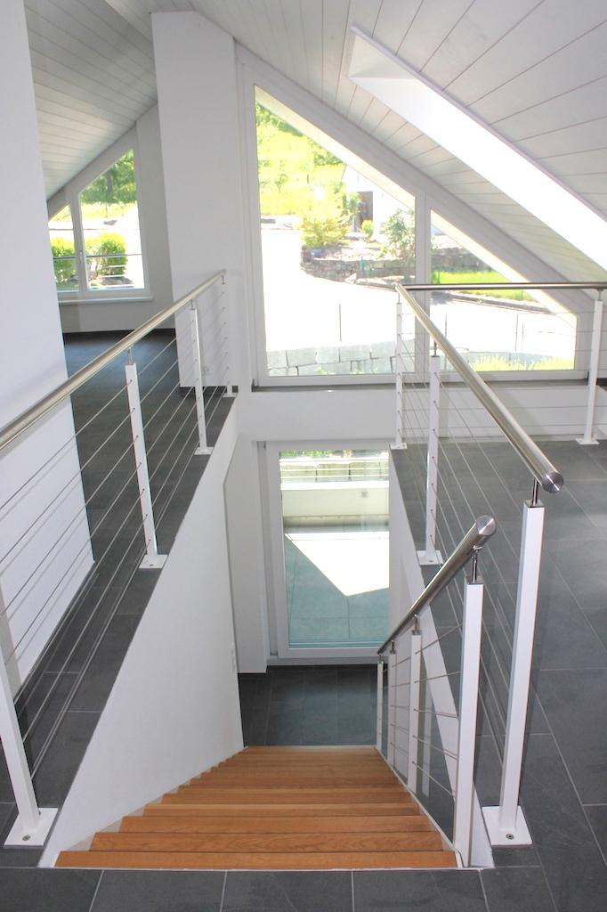 Treppenabgang